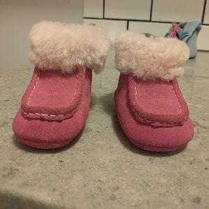 Pink Baby uggs size 1