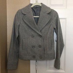 Nordstrom BP Gray Wool coat