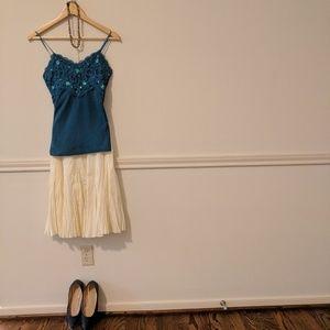 Dresses & Skirts - Creamy yellow skirt