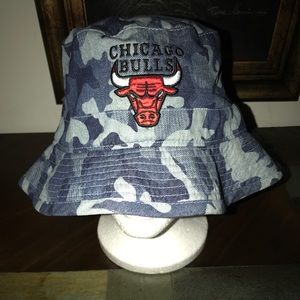 Other - Camouflage Chicago Bulls bucket hat.