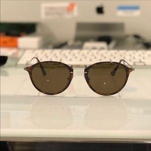 Persol Havana Polarized Sunglasses