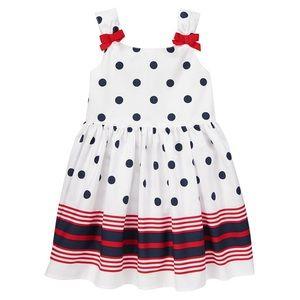 Gymboree Patriotic Dot Dress