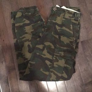94b564d3b679d Fashion Nova Pants - Fashion Nova Cadet Kim Oversized Camo Pants