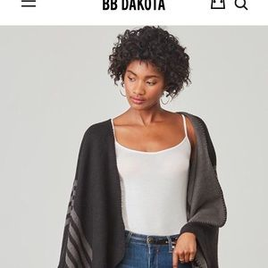 BB Dakota Reversible Poncho Fab Fit Fun