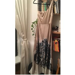 Rare MNG Suit Satin Gown