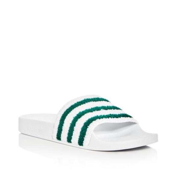 le adidas mens adilette slide sandali taglia 11 poshmark