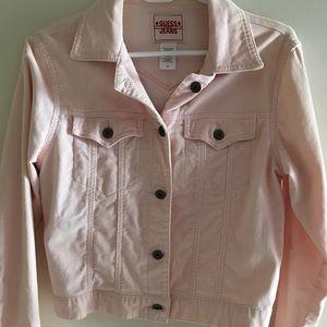 ❤️2/$25❤️ PINK GUESS jacket & skirt