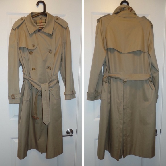 Burberry Other - Burberry Classic Belted Khaki Trench, 40 reg