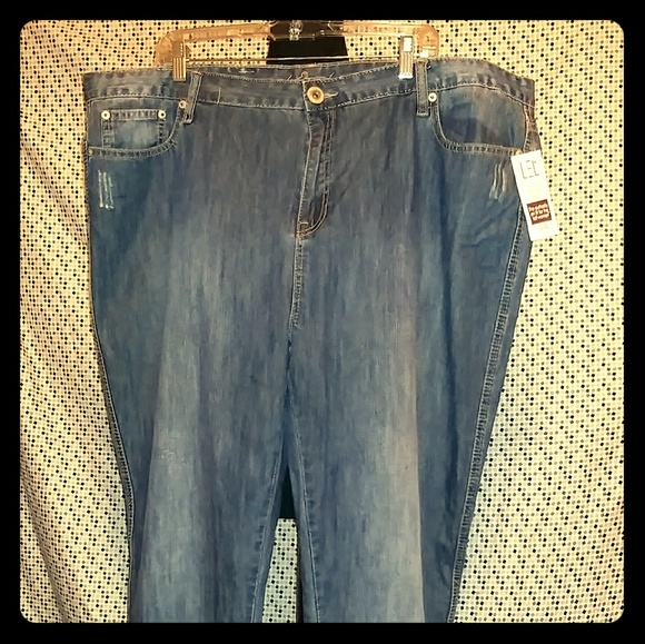 195dbba9bddd3 Long Elegant Legs Jeans   Nwt Plus Size Lel Tall Straight Leg   Poshmark