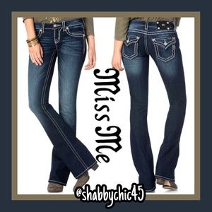 Gorgeous Miss Me Signature Bootcut 26*34