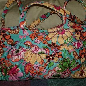 Vera Bradley sateen purse