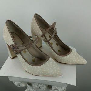 Boden calf hair shoes