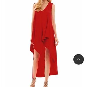 Nicole miller hi hem low dress