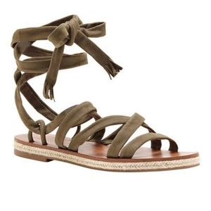 Lucky Brand Lace up Sandal