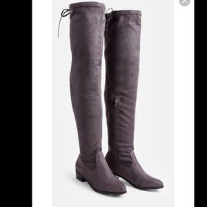JustFab Abbie Over the Knee Boots Size 8.5