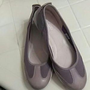 "Ladies ""Ecco"" Ballerina Flats SZ."