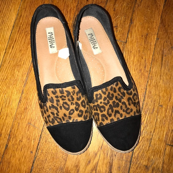 3c1753846a6 mad love Shoes - Mad Love cheetah print shoes. Size 9. EUC