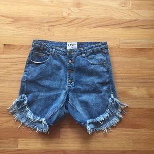 One Teaspoon frankies shorts