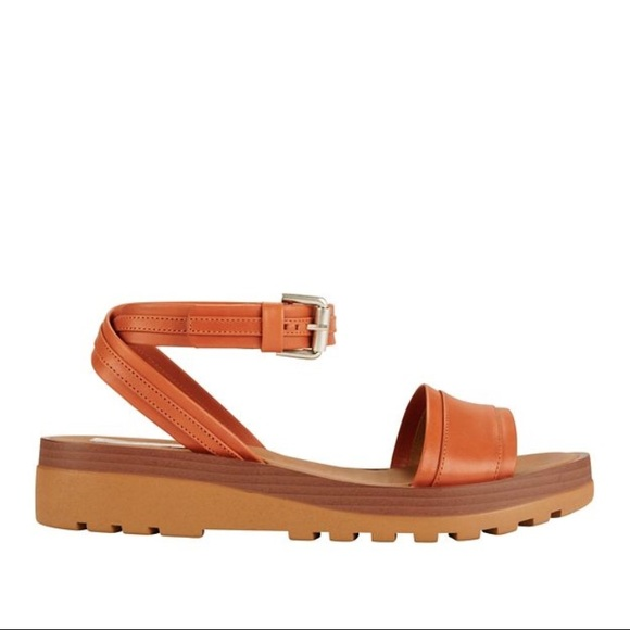 cheap sale real shop for for sale Chloé See by Leather Ankle Strap Sandals cheap the cheapest buy cheap ebay Zo9r1p
