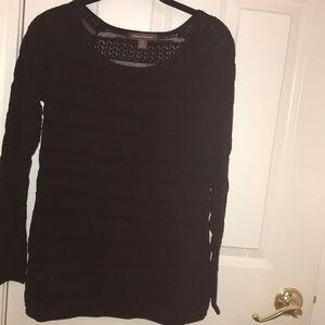 Tommy B Black knit