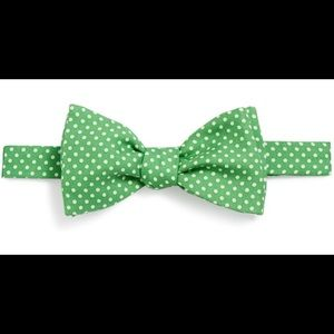 Vineyard Vines Light Green Mini Polka Dot Bow Tie