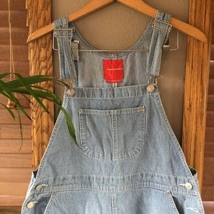 Vintage Stripped Overalls