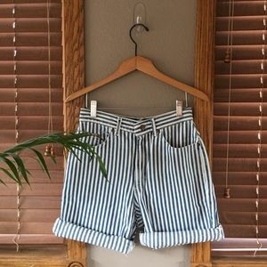 Deadstock Lee Stripped Shorts