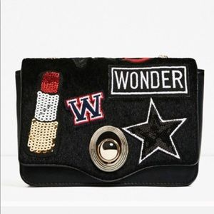 Zara Crossbody Bag W Interchangeable Flaps