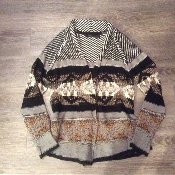 Modcloth Sweaters - 🍂 Cute ethnic boho knit cardigan cute sweater XS