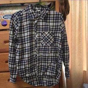 Wet seal brown flannel