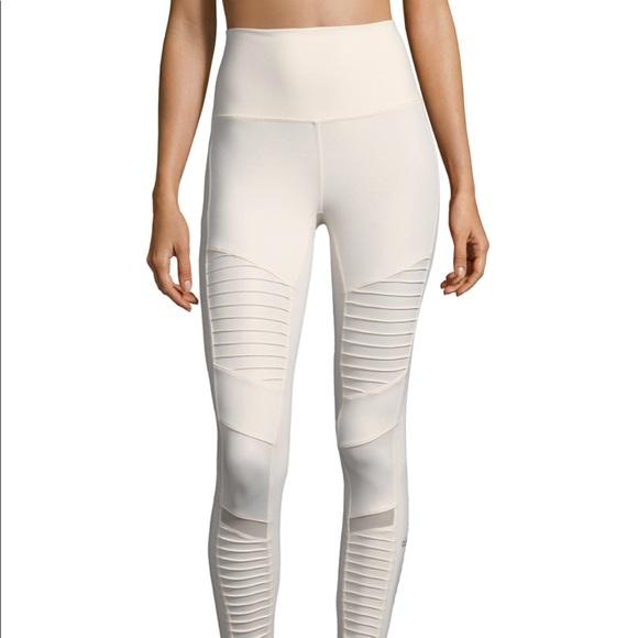 317f6f5569040 ALO Yoga Pants | High Waist Moto Leggings Pristine Nwt | Poshmark