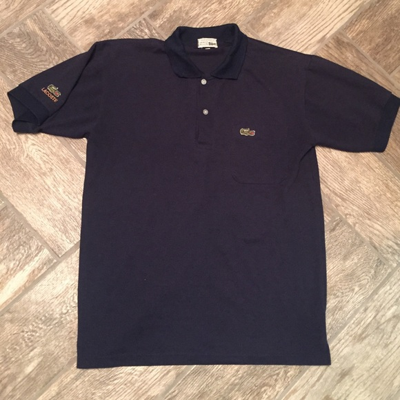 21d4ecd838 Chemise Lacoste Other - Vintage Chemise Lacoste Made In France Polo Shirt