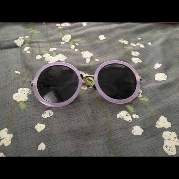 occhiali Accessories - Occhiali Round Purple/Lavender Shades