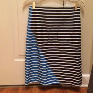 JCrew wool a line skirt