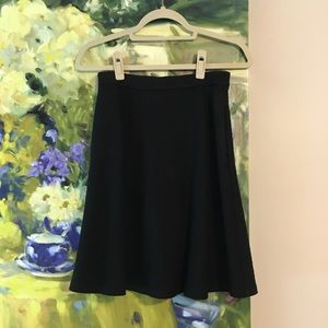 Theory A-line Midi Skirt