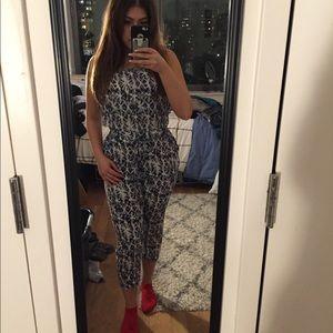 Zara 3/4 length jumpsuit