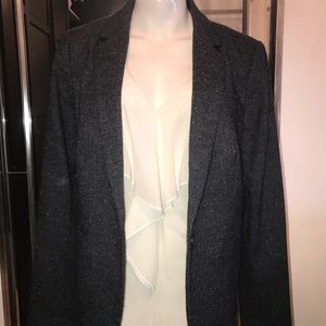 LOFT tweed blazer & Top Set