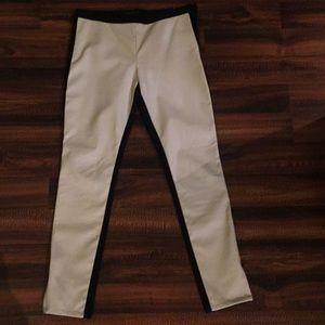 Banana Republic Black & White Sloan Pant, Side-zip