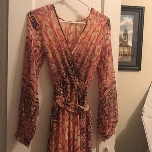 Ark and Company boutique long sleeve maxi dress
