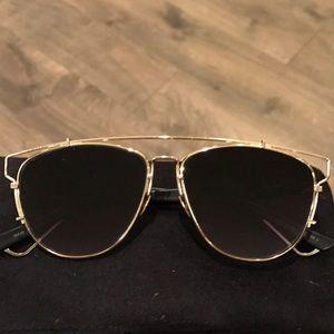 Dior Sunglasses technologic aviator