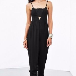 Urban Outfitters COPE Black Lace Jumpsuit Playsuit