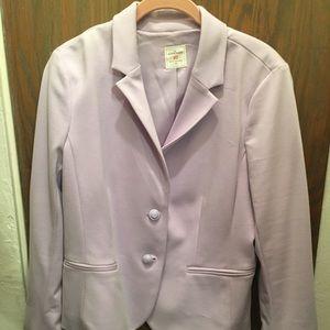 Gap Pastel Purple Gap Blazer