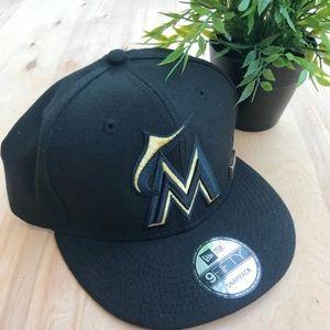 New Era MLB Florida Marlins Snapback hat