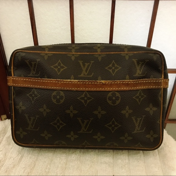 Louis Vuitton compiegne 23 monogram cosmetic bag 30b84464a04ed