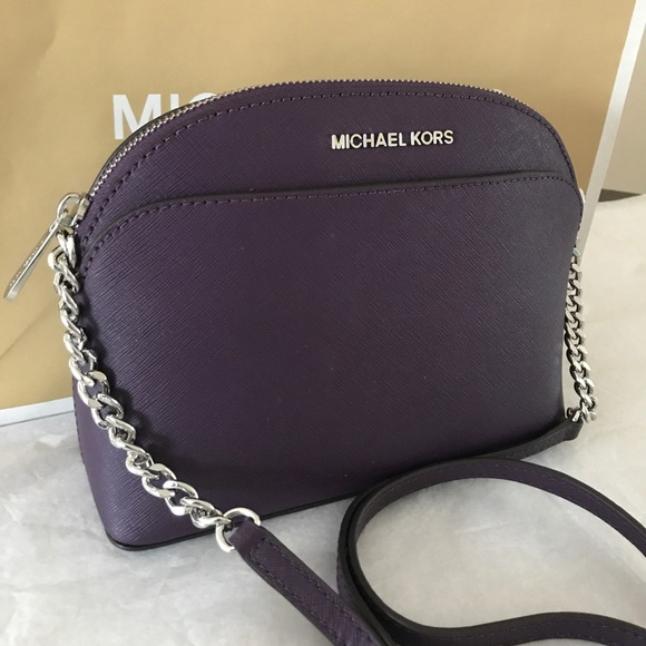 cfbfe1fd1223 Michael Kors Emmy Dome Cross Body