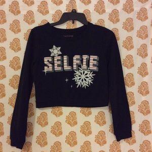 Selfies Christmas theme Rebellious One shirt