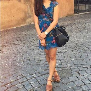 Sweet floral mini dress