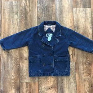 Arizona Jeans Company Kids Jacket Denim Blue Sz 4