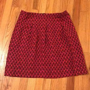 LOFT: Pink skirt