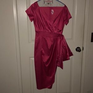 Brand new pinup culture fuchsia pink dress